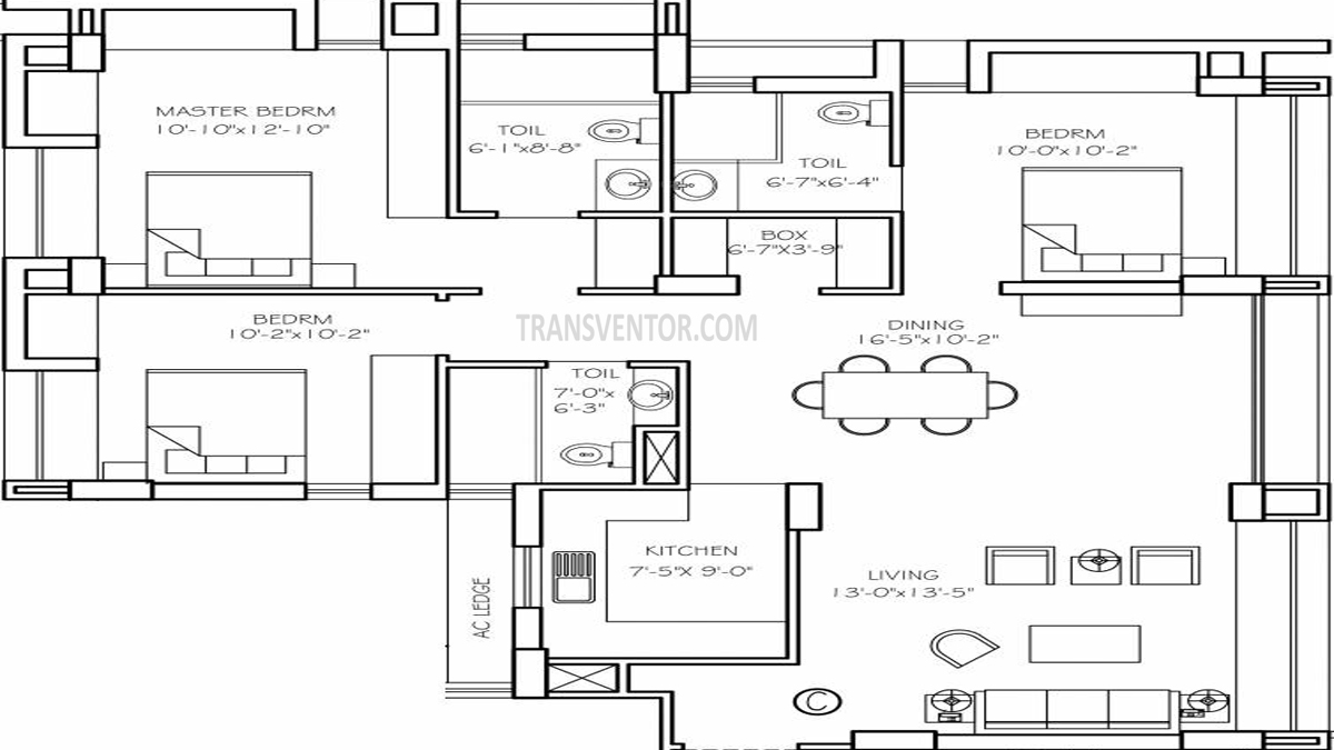 Orbit Cosmos Floor Plan 3