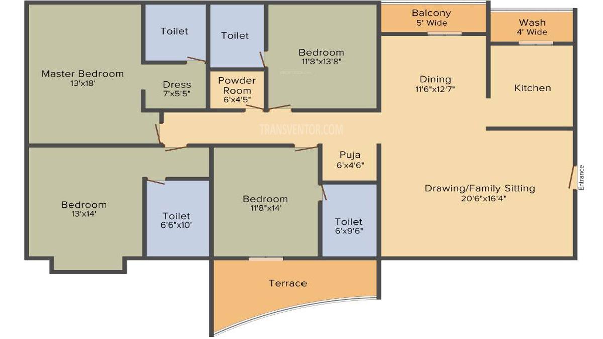 Orbit Sky Gardens Floor Plan 1