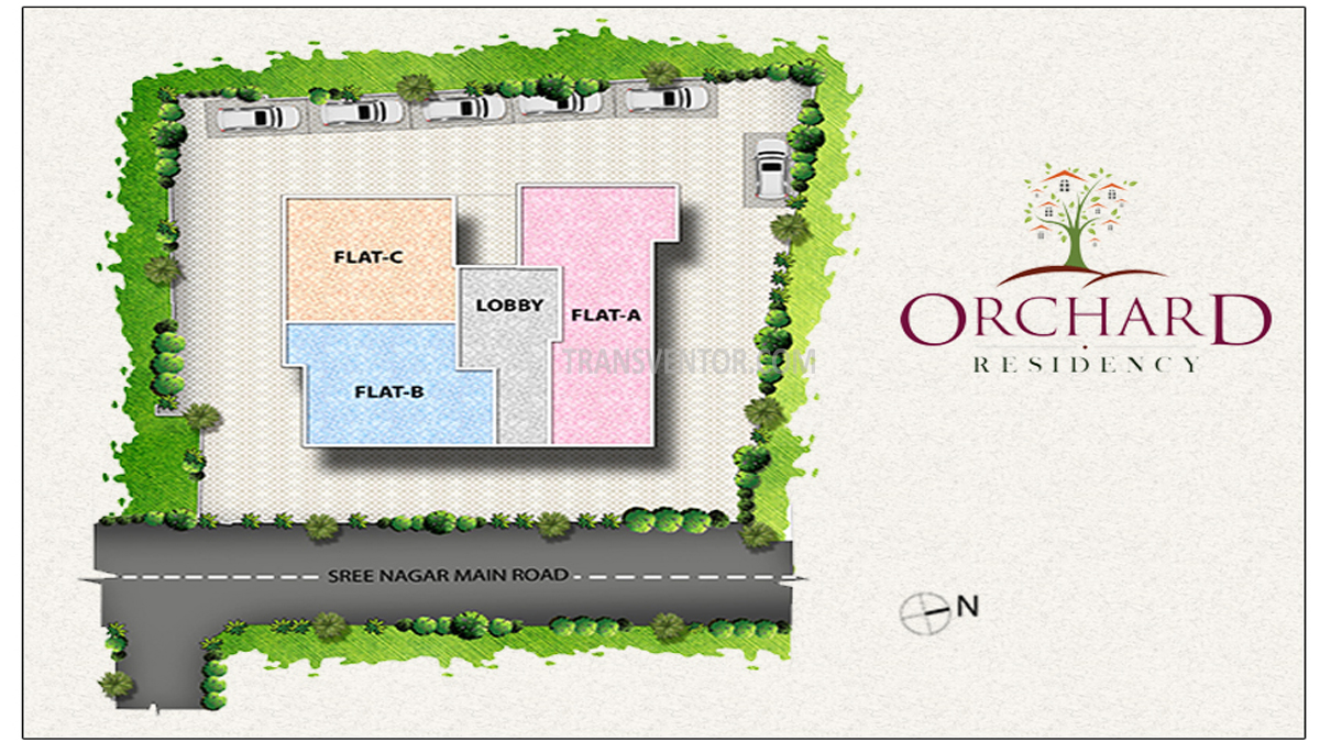 Oswal Orchard Residency Floor Plan 3