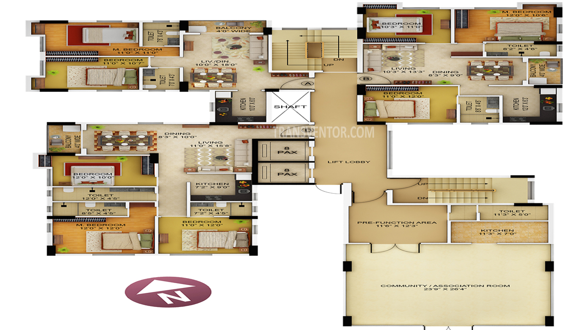 Primarc Allure Floor Plan 4