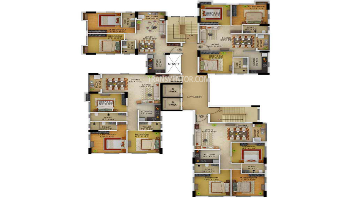 Primarc Allure Floor Plan 5