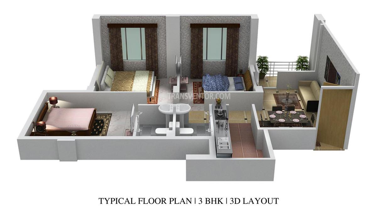 Prudent Prana Floor Plan 2