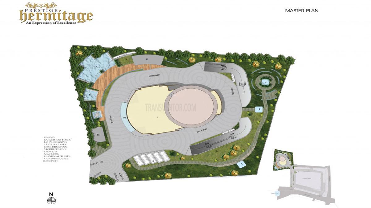 Prestige Hermitage Floor Plan 1