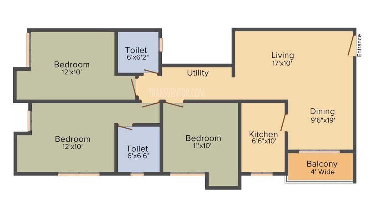 Primarc Anukul Floor Plan 4