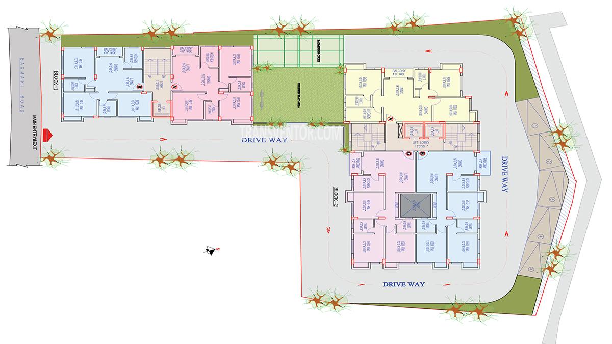 Primarc Anukul Floor Plan 1