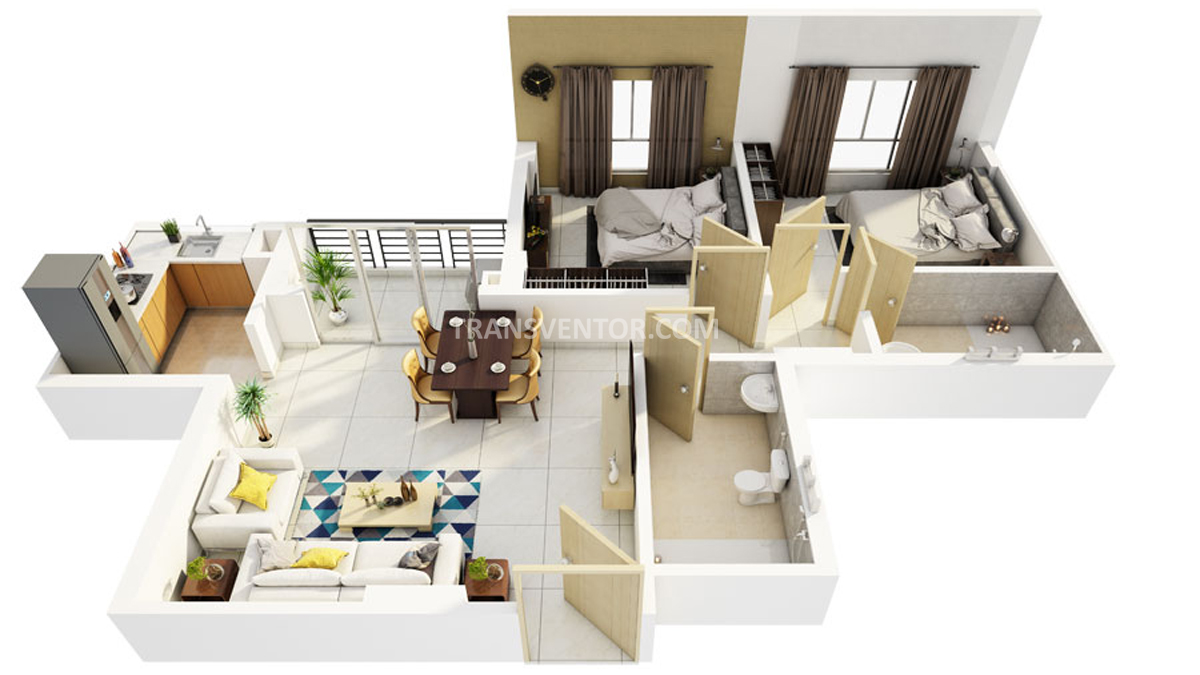 Primarc Southwinds Phase II Floor Plan 2