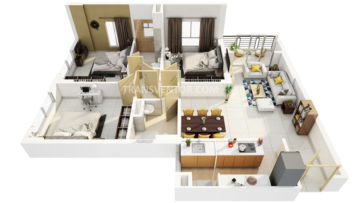 Primarc Southwinds Phase II Floor Plan 3