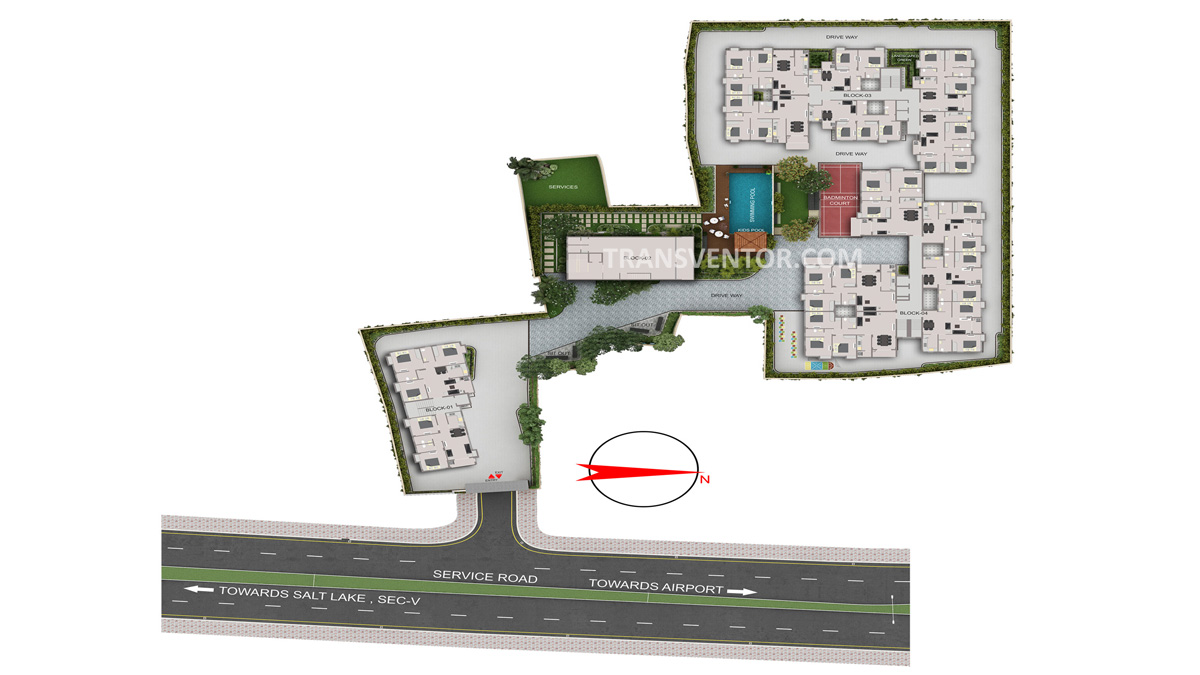 PS Arham Floor Plan 1
