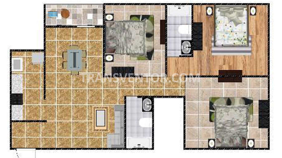 PS Ixora Floor Plan 2