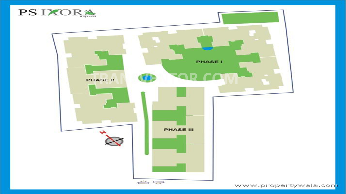PS Ixora Floor Plan 1