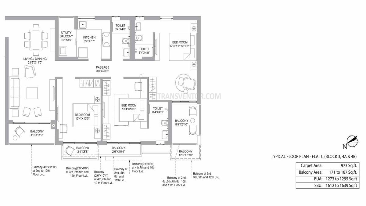 PS Jiva Floor Plan 7