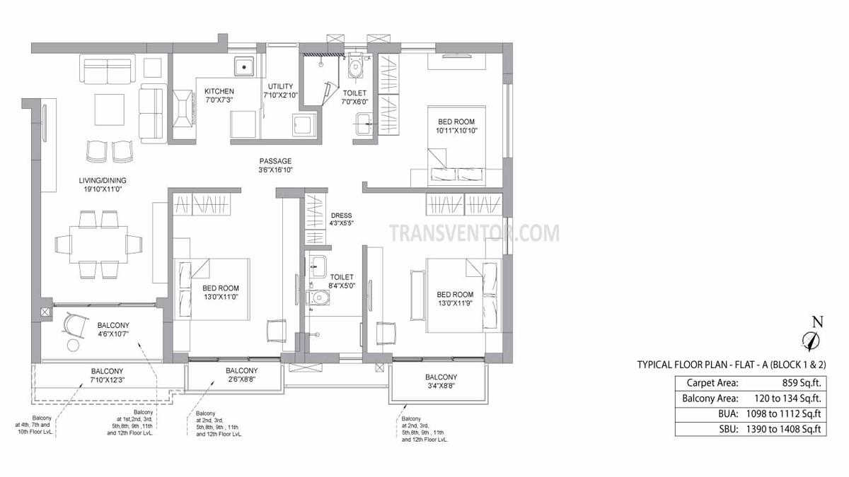 PS Jiva Floor Plan 2