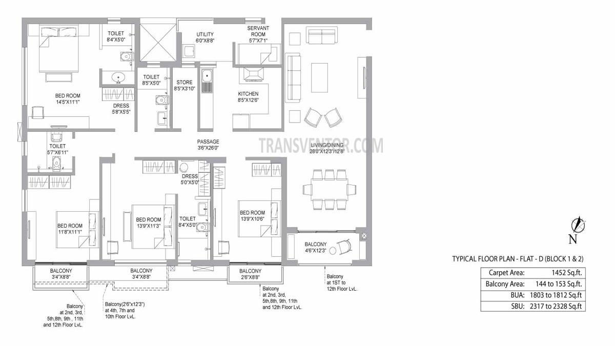 PS Jiva Floor Plan 9