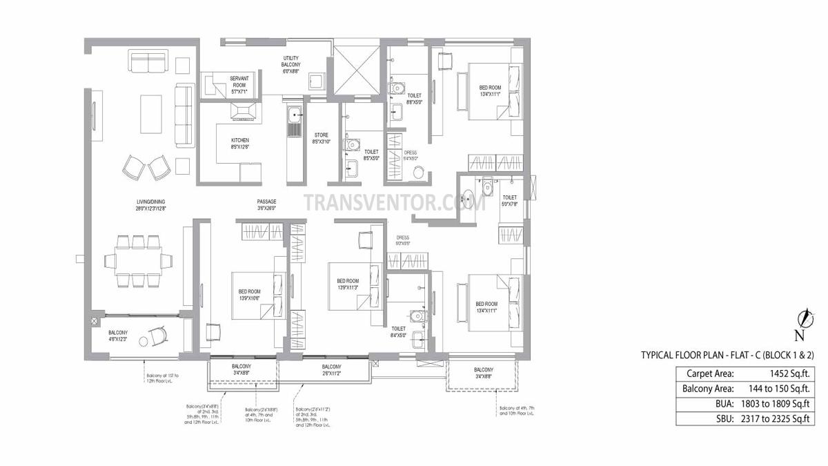PS Jiva Floor Plan 8