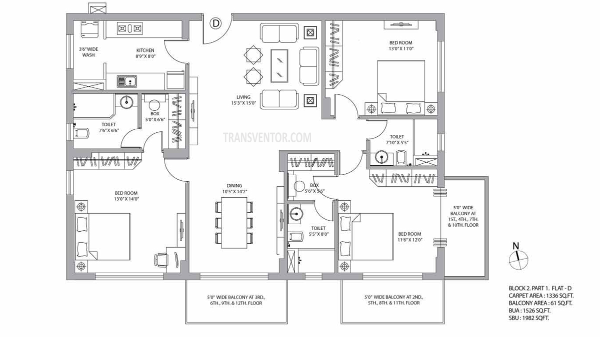 PS Vyom Floor Plan 2
