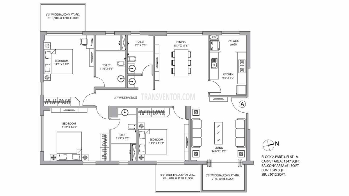 PS Vyom Floor Plan 3