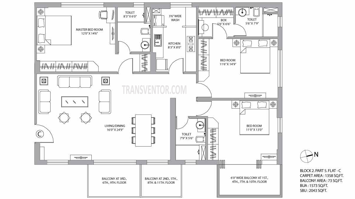 PS Vyom Floor Plan 4