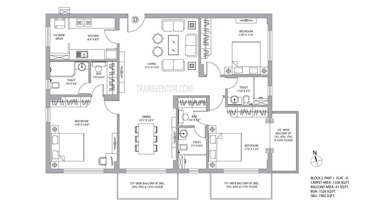 PS Vyom Floor Plan 1