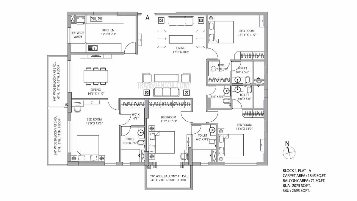 PS Vyom Floor Plan 7