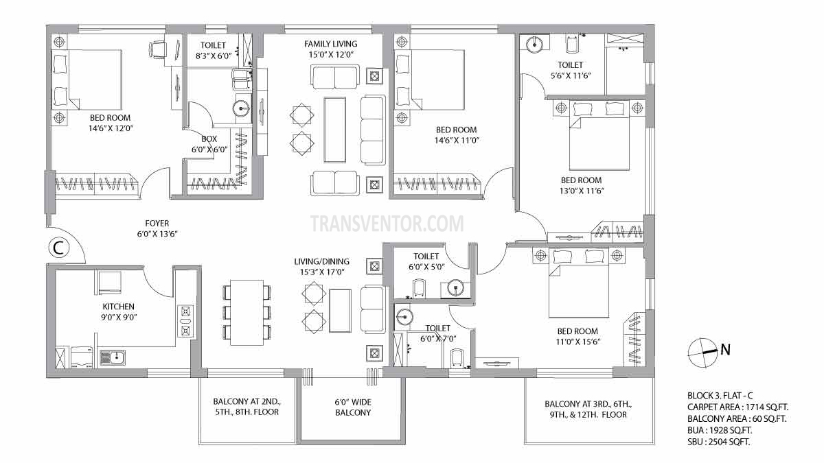 PS Vyom Floor Plan 5