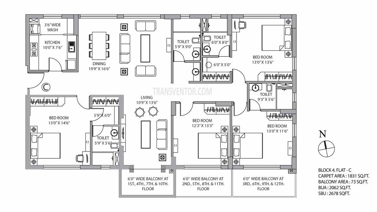 PS Vyom Floor Plan 6