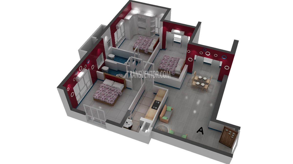Rajwada Altitude Floor Plan 2