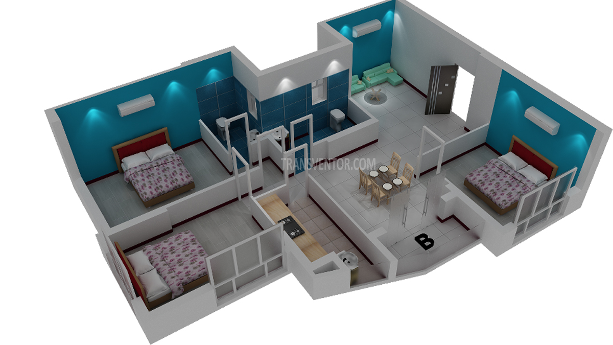 Rajwada Altitude Floor Plan 3