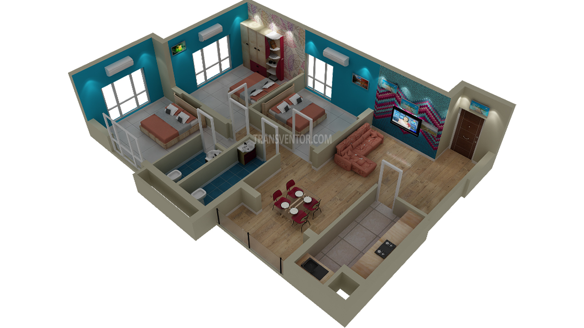 Rajwada Altitude Floor Plan 4