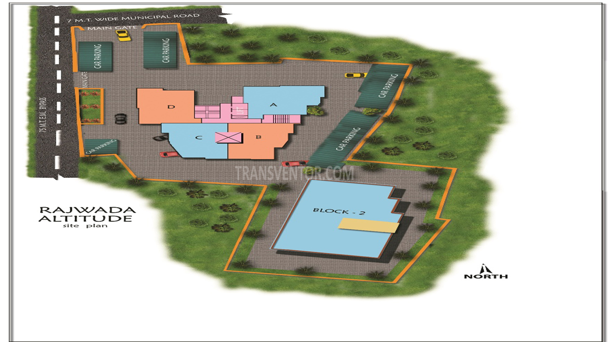 Rajwada Altitude Floor Plan 1