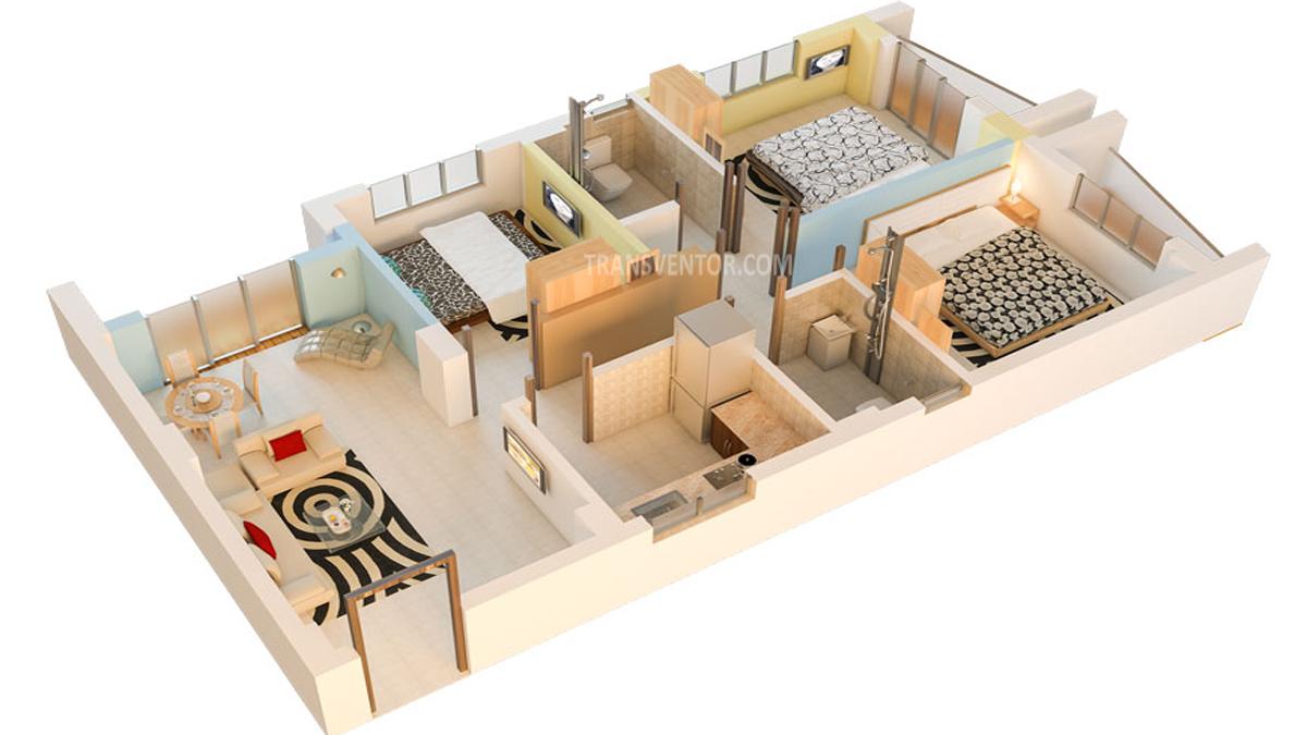 Realtech Nirman Hijibiji Floor Plan 7