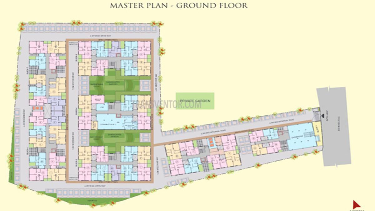 Riya Manbhari Swarnabhoomi Floor Plan 1
