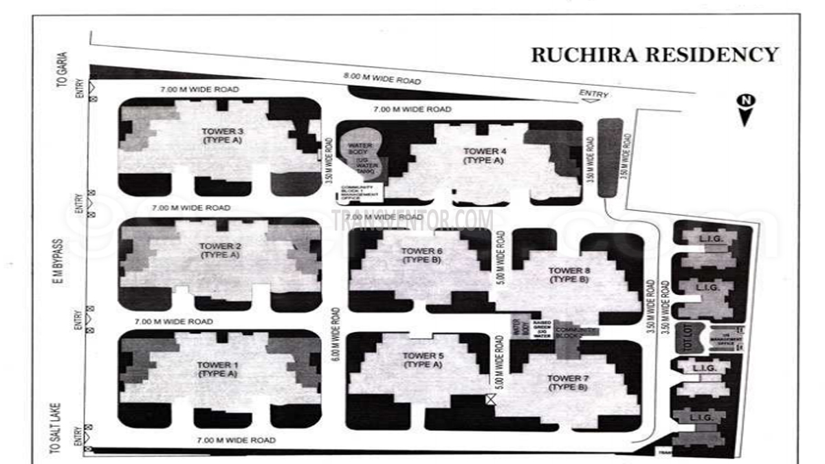 Ruchira Residency Floor Plan 1