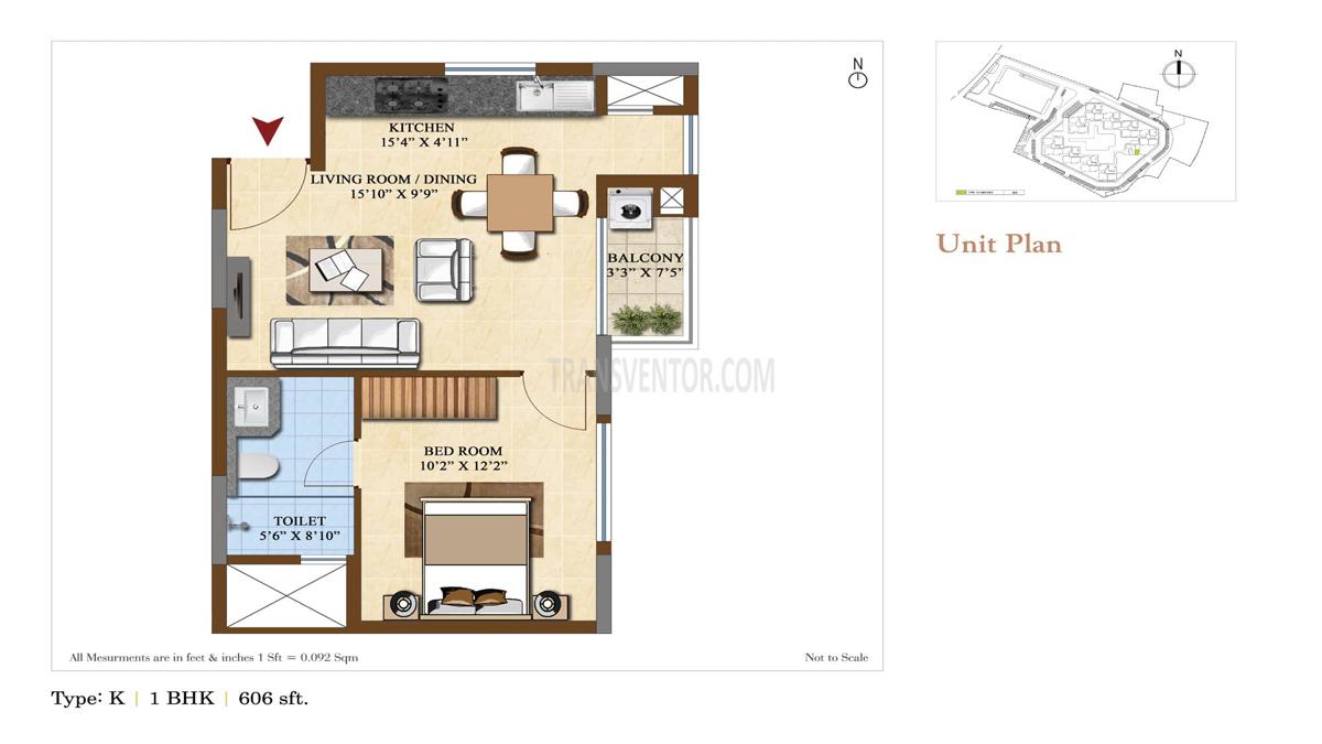 Salarpuria Sattva Divinity Floor Plan 2