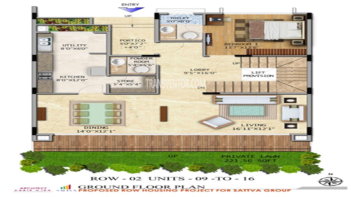 Salarpuria Sattva Northland Floor Plan 2