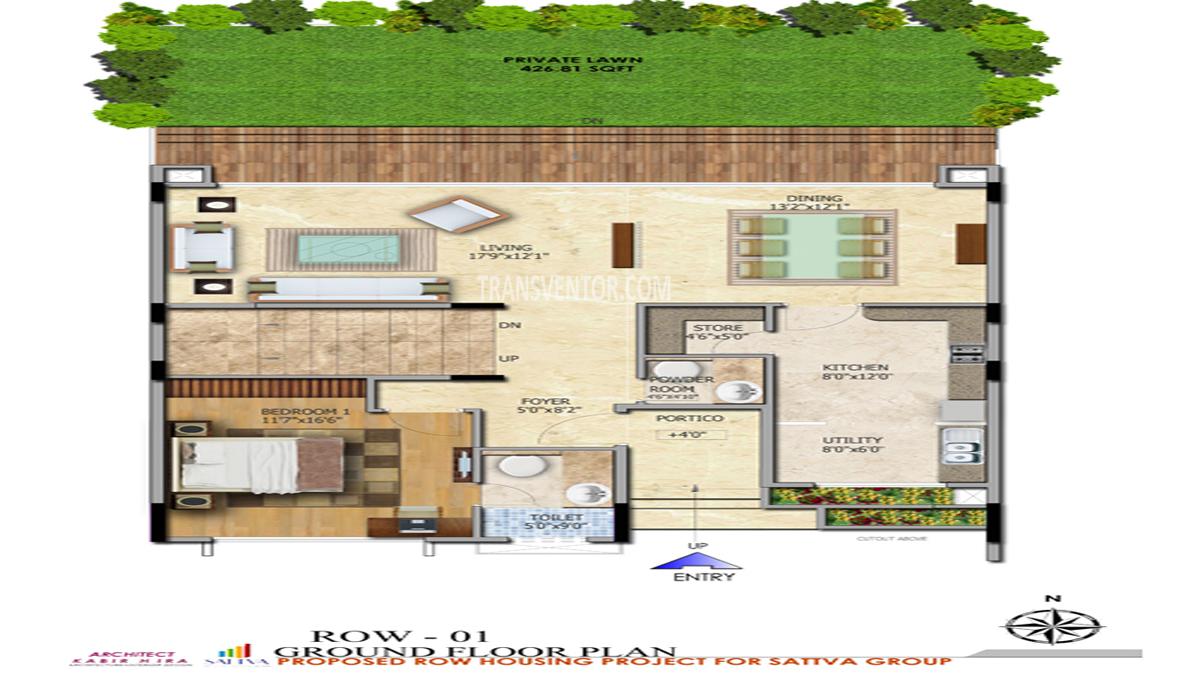 Salarpuria Sattva Northland Floor Plan 3