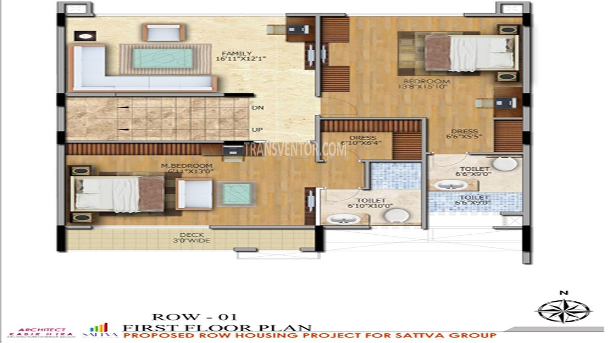 Salarpuria Sattva Northland Floor Plan 5