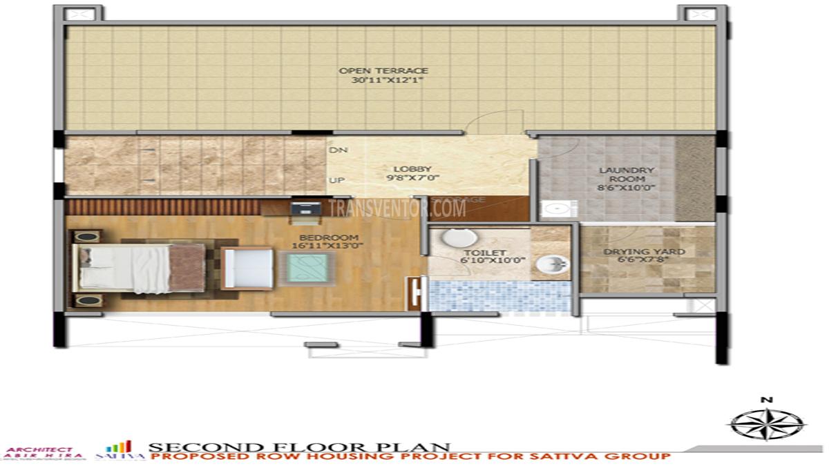 Salarpuria Sattva Northland Floor Plan 8