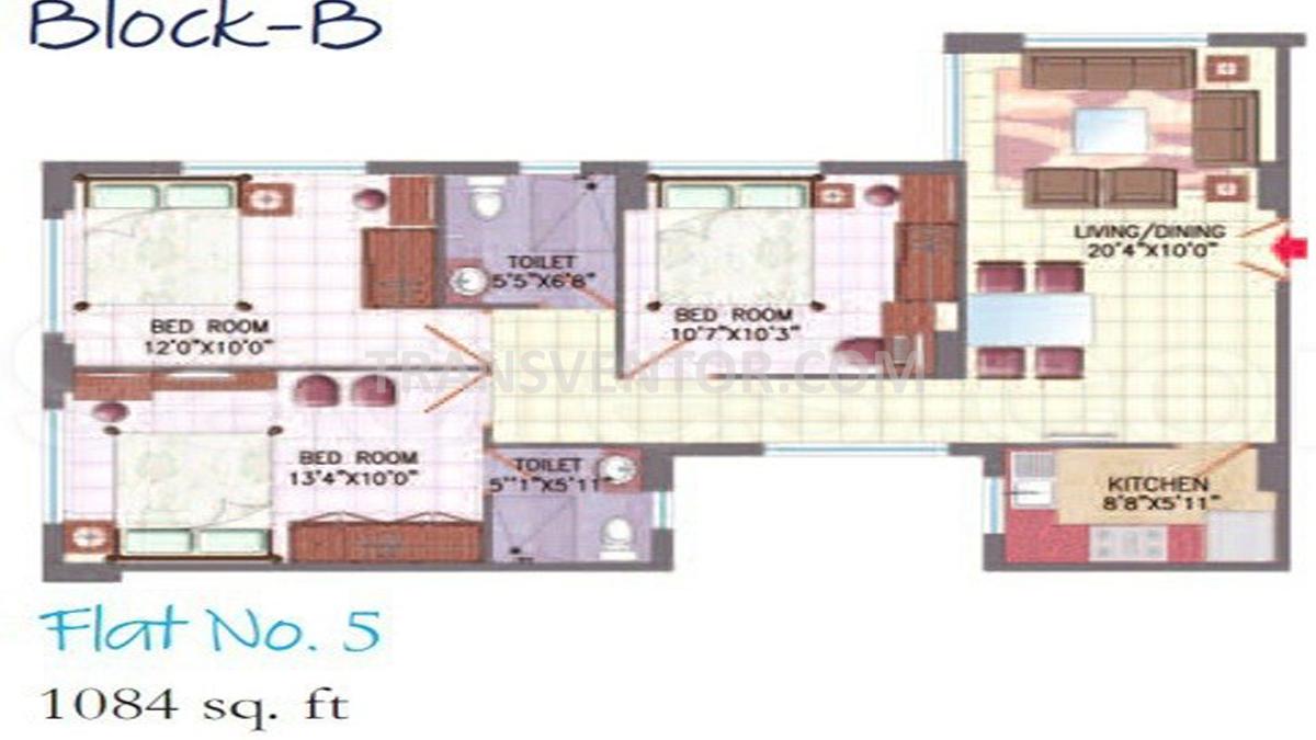 SGIL Gardenia Floor Plan 2
