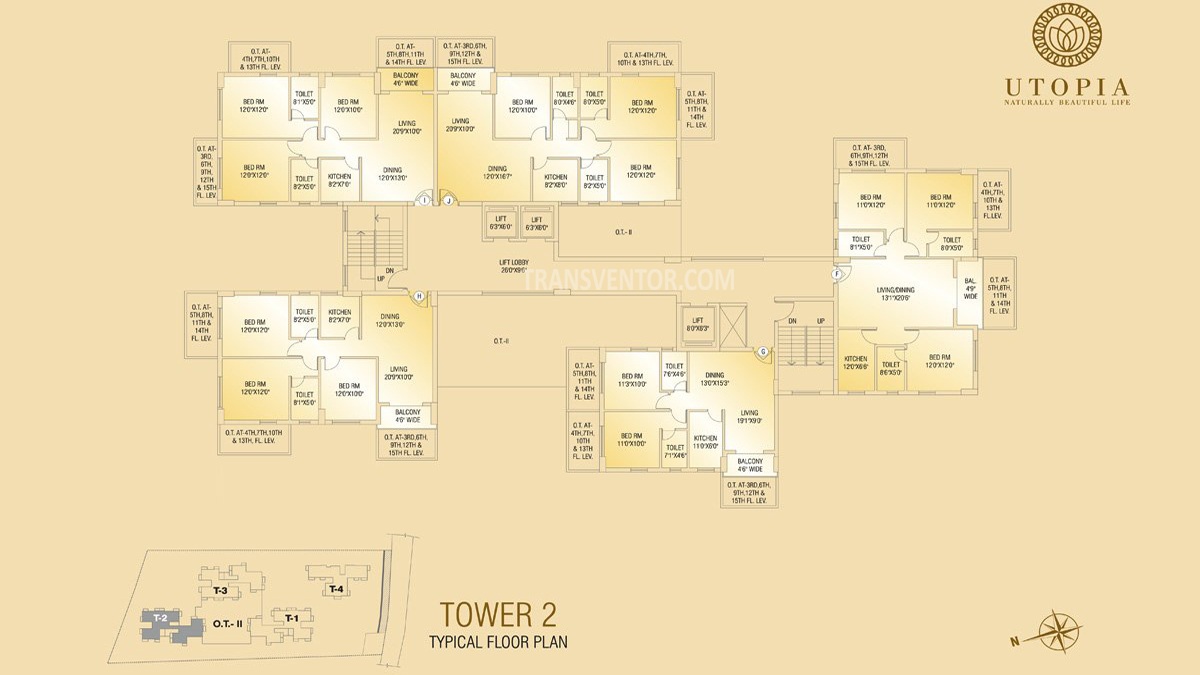 Shivom Utopia Floor Plan 3