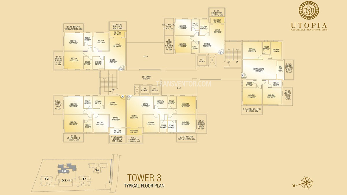 Shivom Utopia Floor Plan 4
