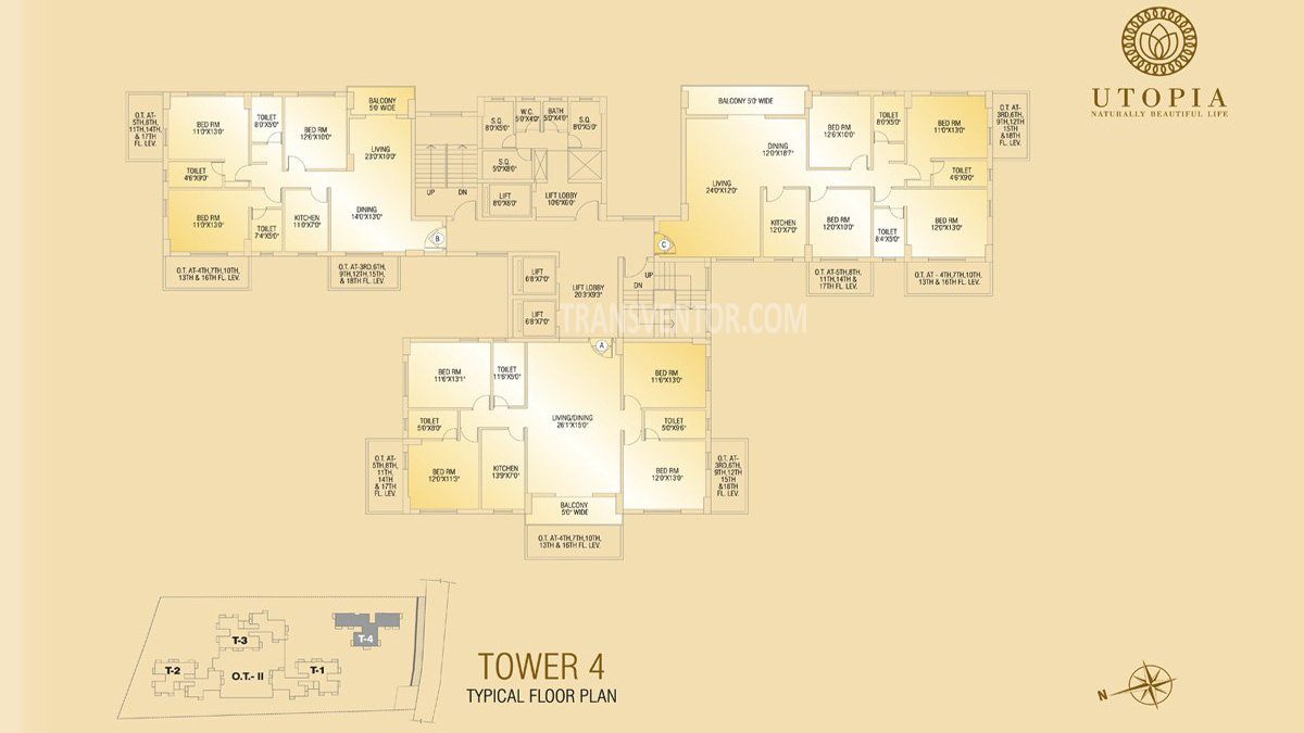 Shivom Utopia Floor Plan 5
