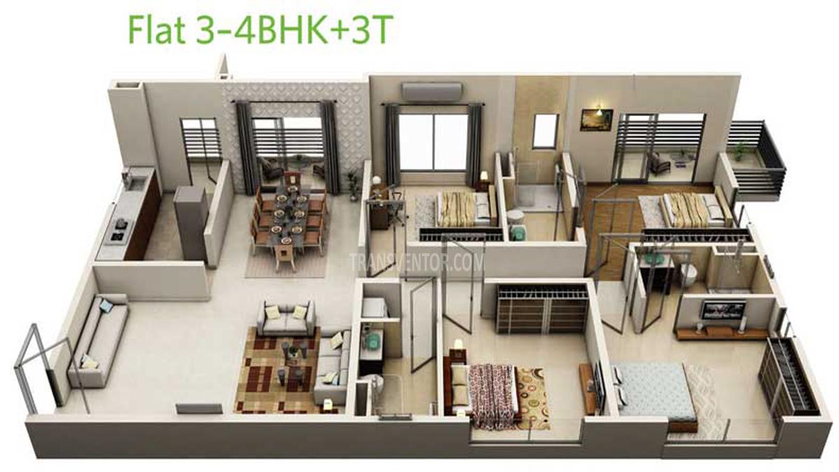 Siddha Eden Lakeville Floor Plan 4