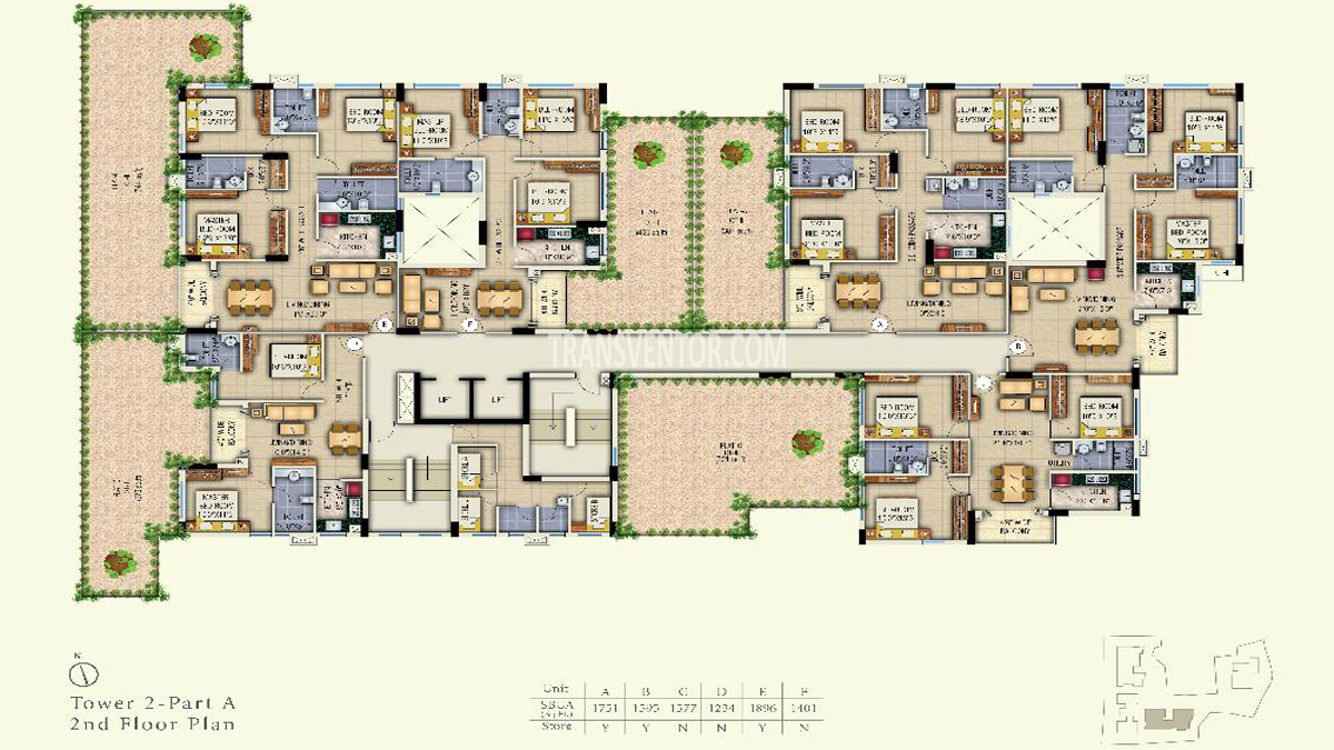 Space Aurum Floor Plan 2
