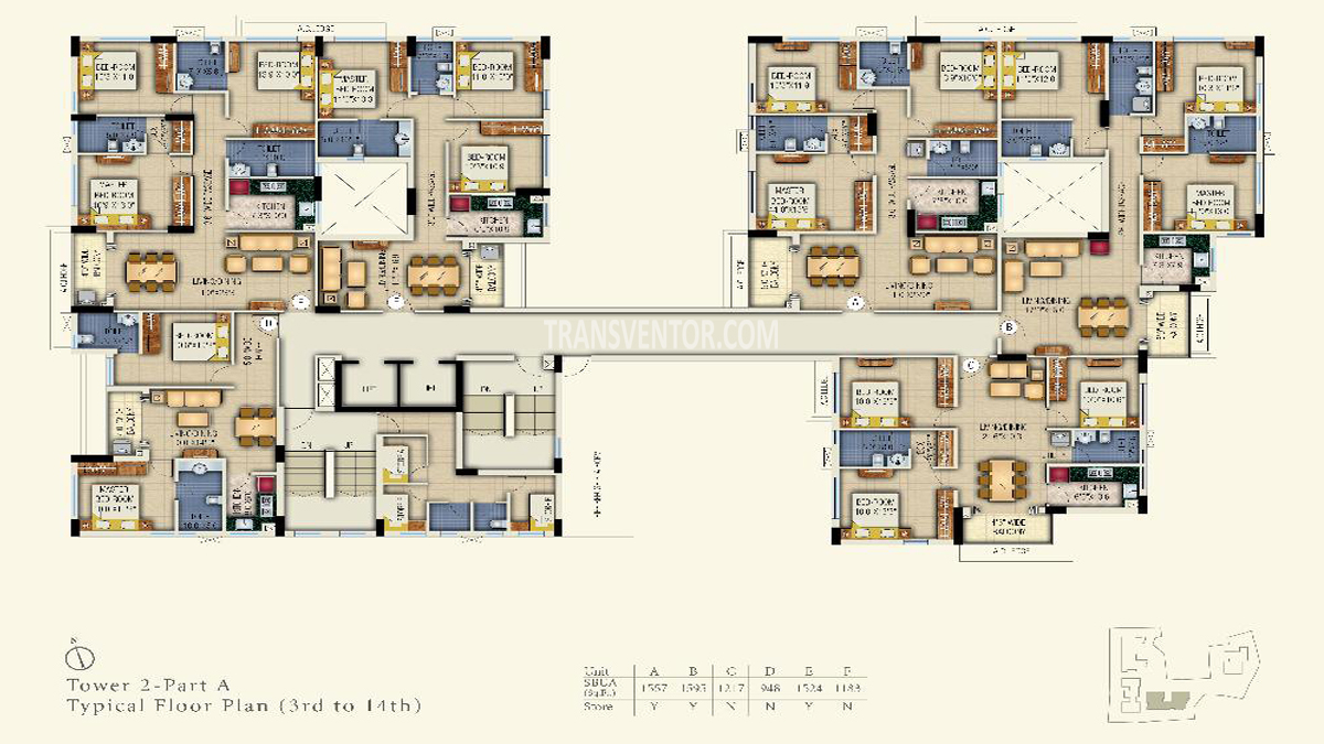 Space Aurum Floor Plan 3