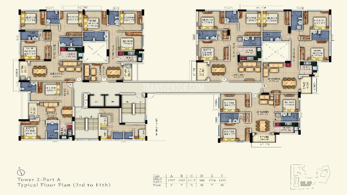 Space Aurum Floor Plan 3