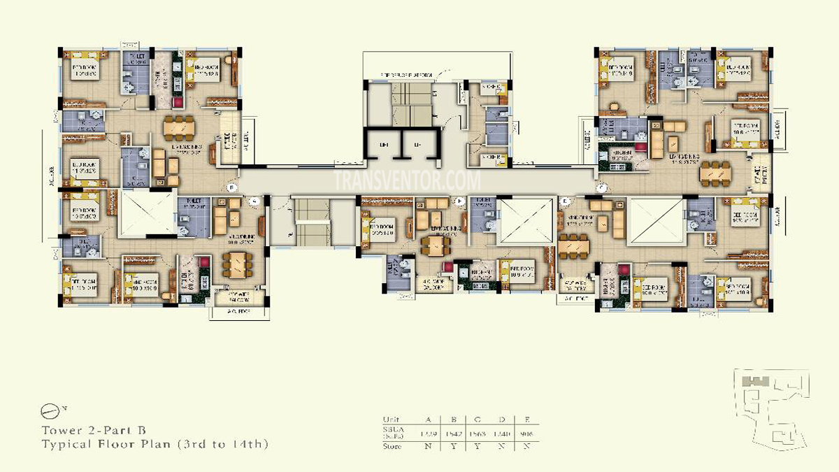 Space Aurum Floor Plan 4