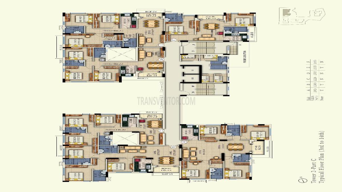 Space Aurum Floor Plan 5
