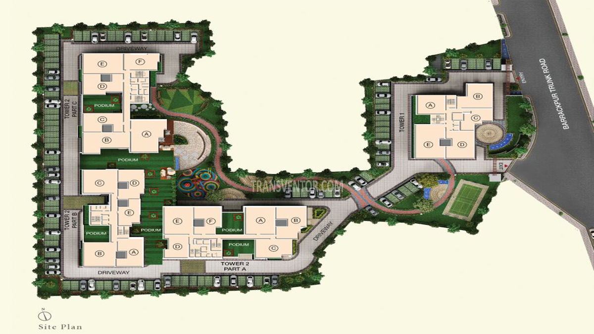 Space Aurum Floor Plan 1