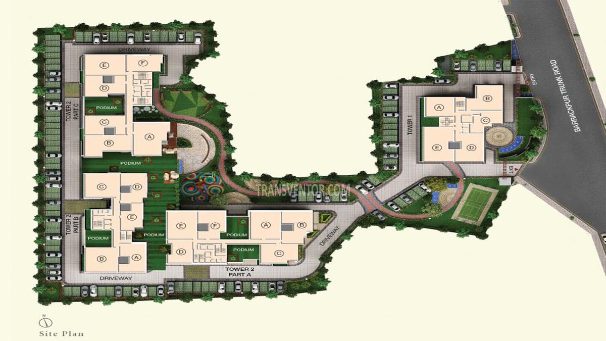 Space Aurum Floor Plan 1