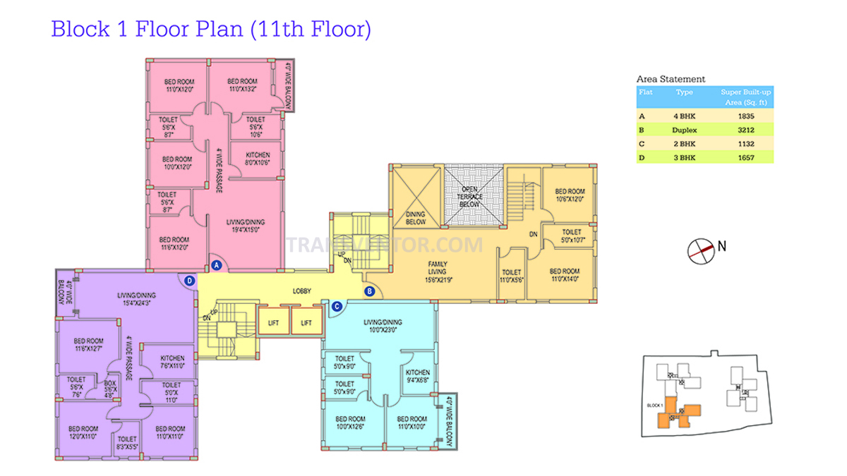 Space Club Town Riverdale Floor Plan 9